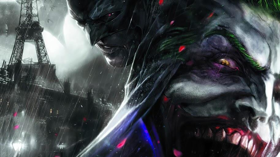 Batman, Joker, DC, Comics, Art, 4K, #6.1150