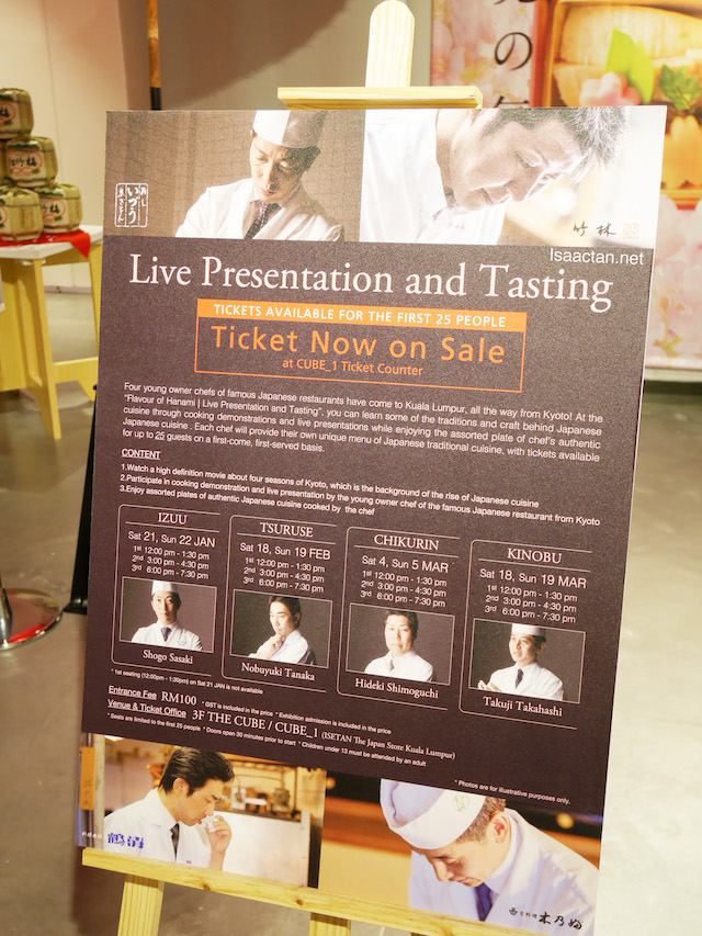 Flavour Of Hanami - Live Presentation & Tasting