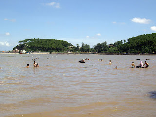 Do Son beach in Haiphong