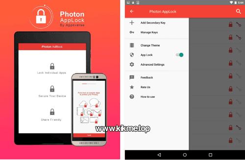Protege el contenido de tu app con Photon App Lock for Kik