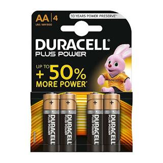 batterie duracell plus power