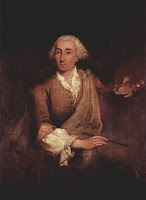 A portrait of Guardi by his contemporary, Pietro Longhi