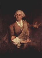 A portrait of Guardi by his contemporary, Pietro Longhi