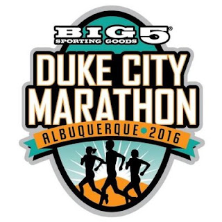 2016 Duke City Marathon logo