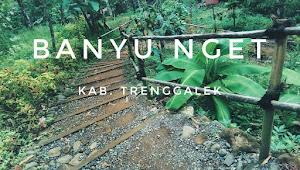 Banyu Nget di Trenggalek , Air Terjun Hits di Tengah Hutan Durian