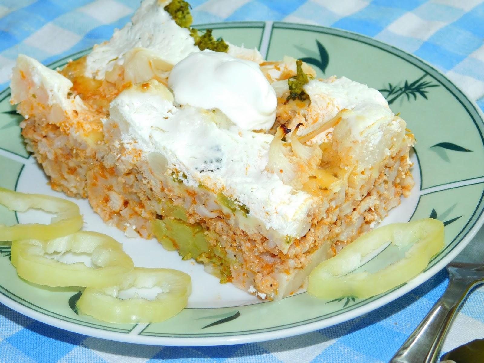 Gerdi süti: Rakott karfiol-brokkoli