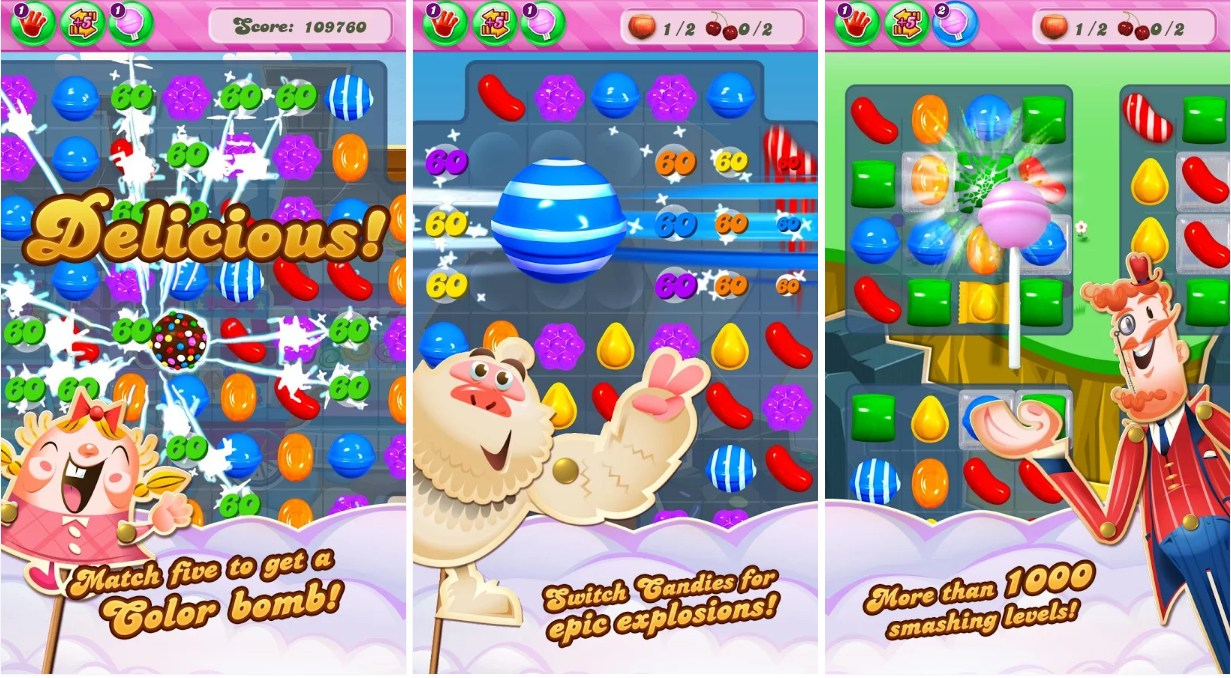 Candy Crush Saga - Screenshots
