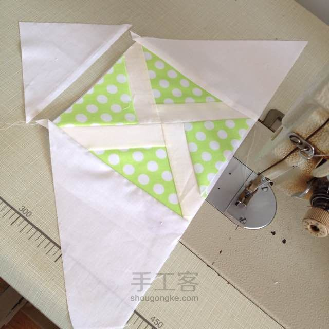 Patchwork Windmill Quilt