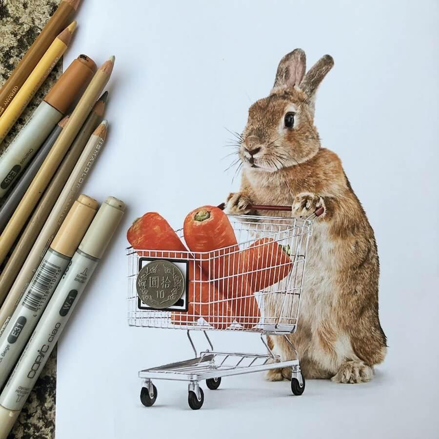 11-Shopping-Bunny-Quanyu-www-designstack-co