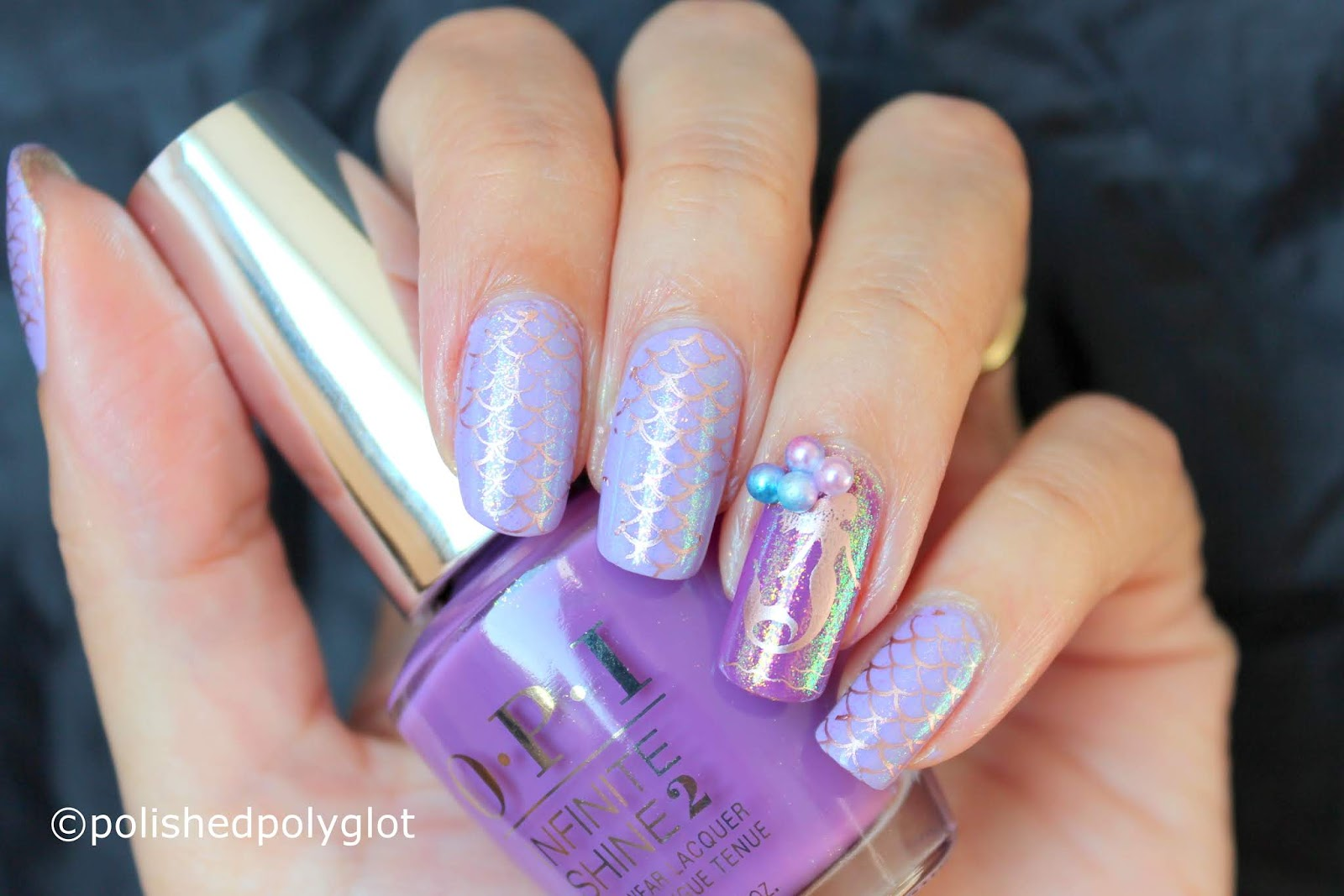Nail Art │ Mermaid Manicure using BeautyBigBang Products / Polished ...