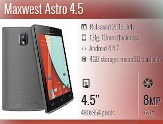 Maxwest Astro 4.5