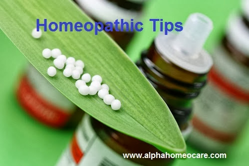 হোমিওপ্যাথিক টিপস - ১২ (Homeopathic Tips - 12)