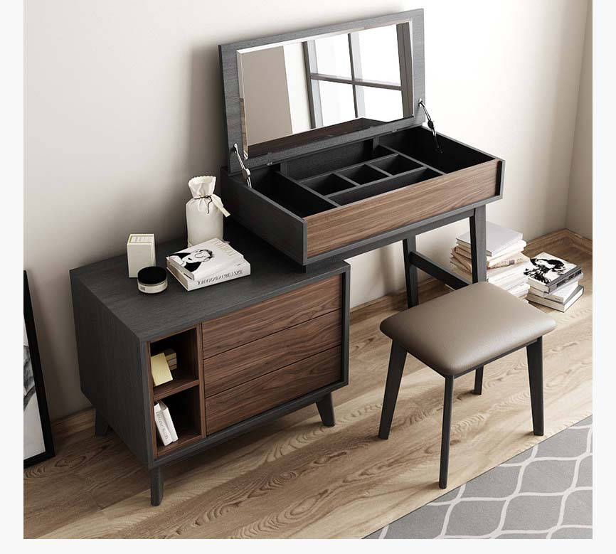 +40 Wooden Dressing Table Design Catalogue For Modern