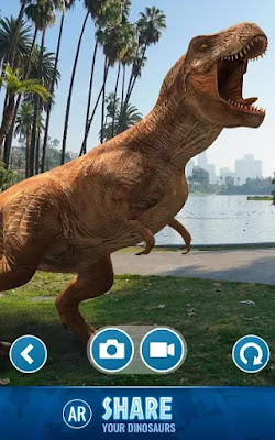Jurassic World Alive مهكرة