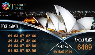 Prediksi Angka Togel Sidney Selasa 19 Maret 2019