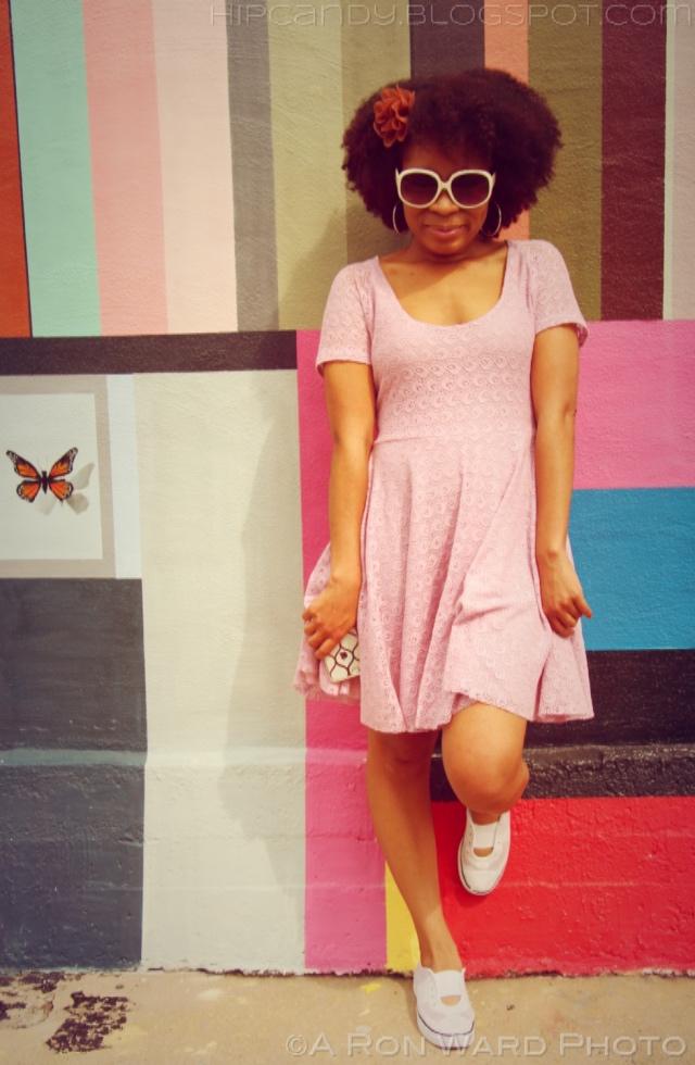 fashion sewing blush pink dress hip couture