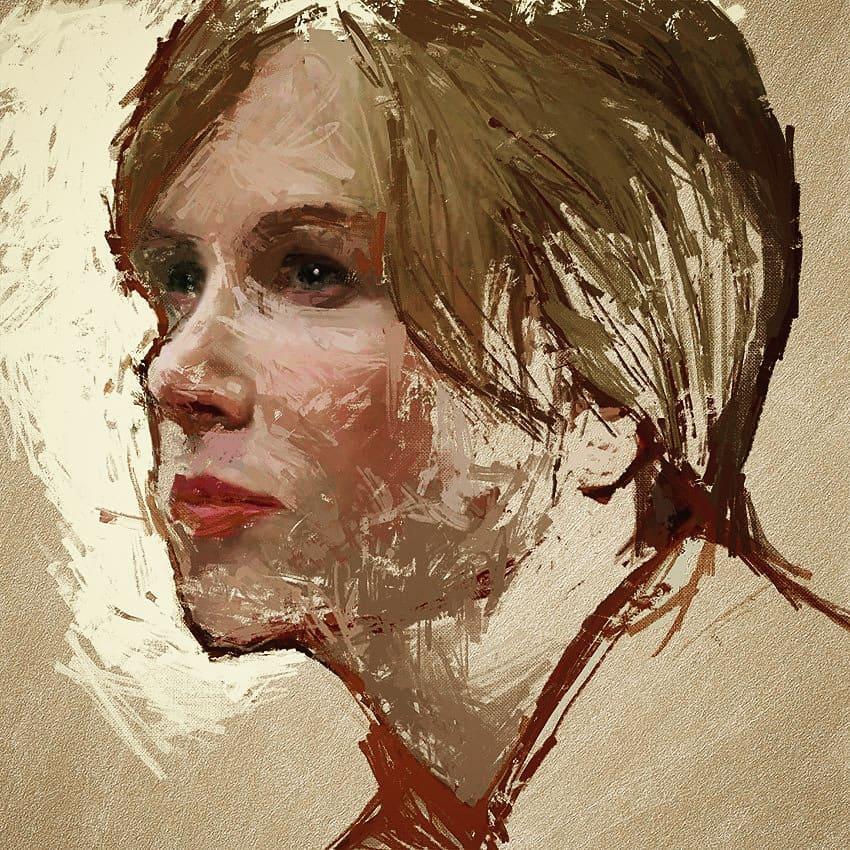 Blonde woman 2