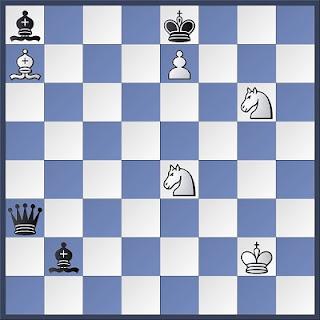 Proceso de composición de problemas de ajedrez, diagrama 4