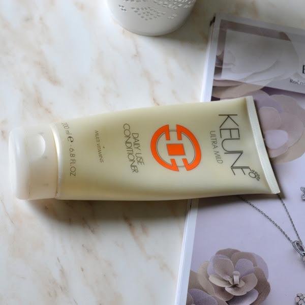 My favourite: Keune, Ultra Mild Daily Use Shampoo & Conditioner