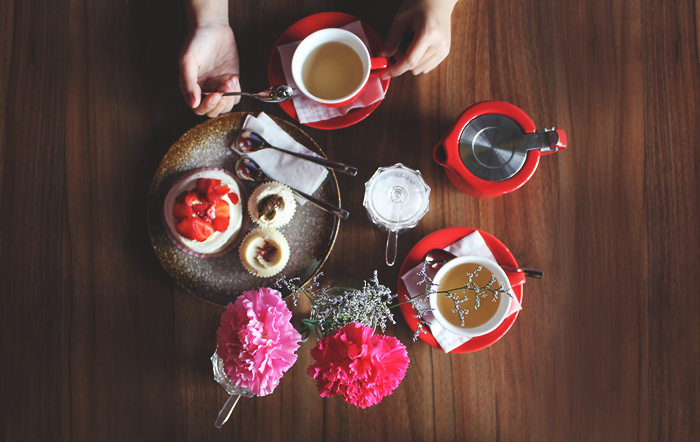 Tea time Flatlay by Brunei Blogger May Cho at Sweet as Sara | The Mayden