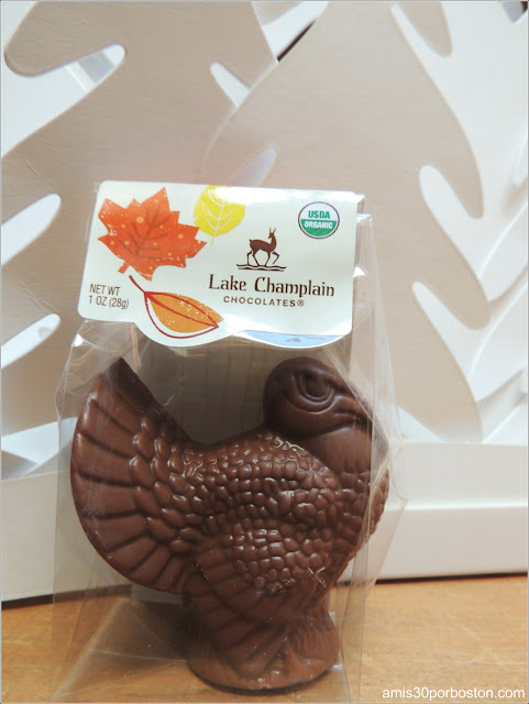 Pavo de Chocolate de Lake Champlain Chocolates en Burlington, Vermont