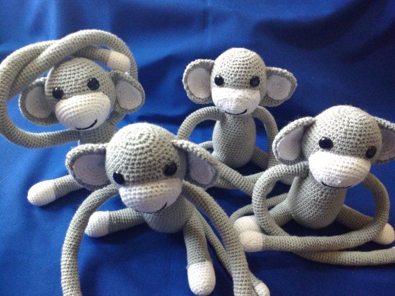 Muñecos Changuitos Chunchitos By Eva