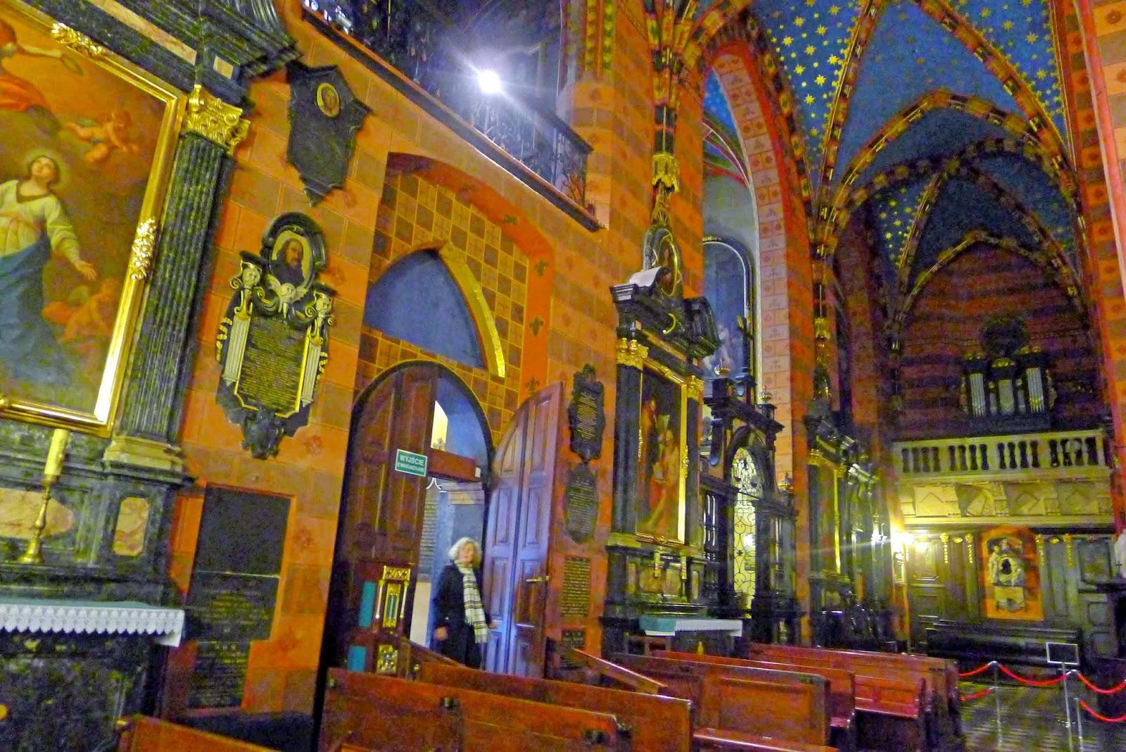 St. Mary's Basilica Interior