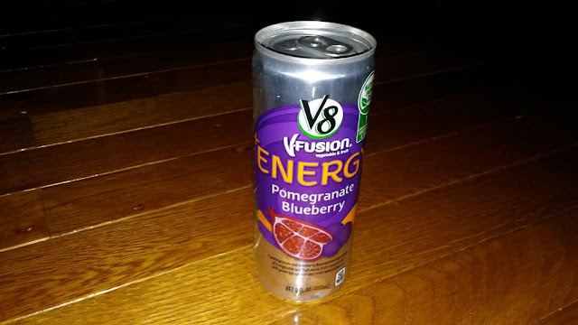 Tried It: V8 V-Fusion + Energy drink | Can this drink give you energy? pomegranate blueberry health blogger