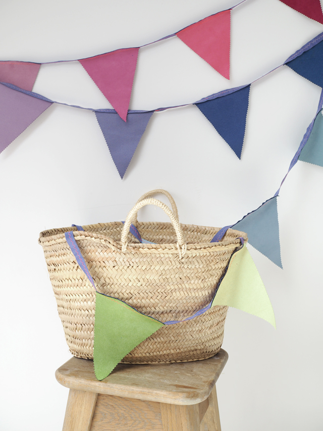 DIY – extremely easy bunting