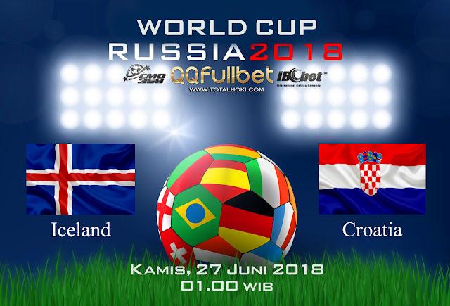 BOLA88 - PREDIKSI BOLA PIALA DUNIA : ISLANDIA VS KROASIA 27 JUNI 2018 ( RUSSIA WORLD CUP 2018 )