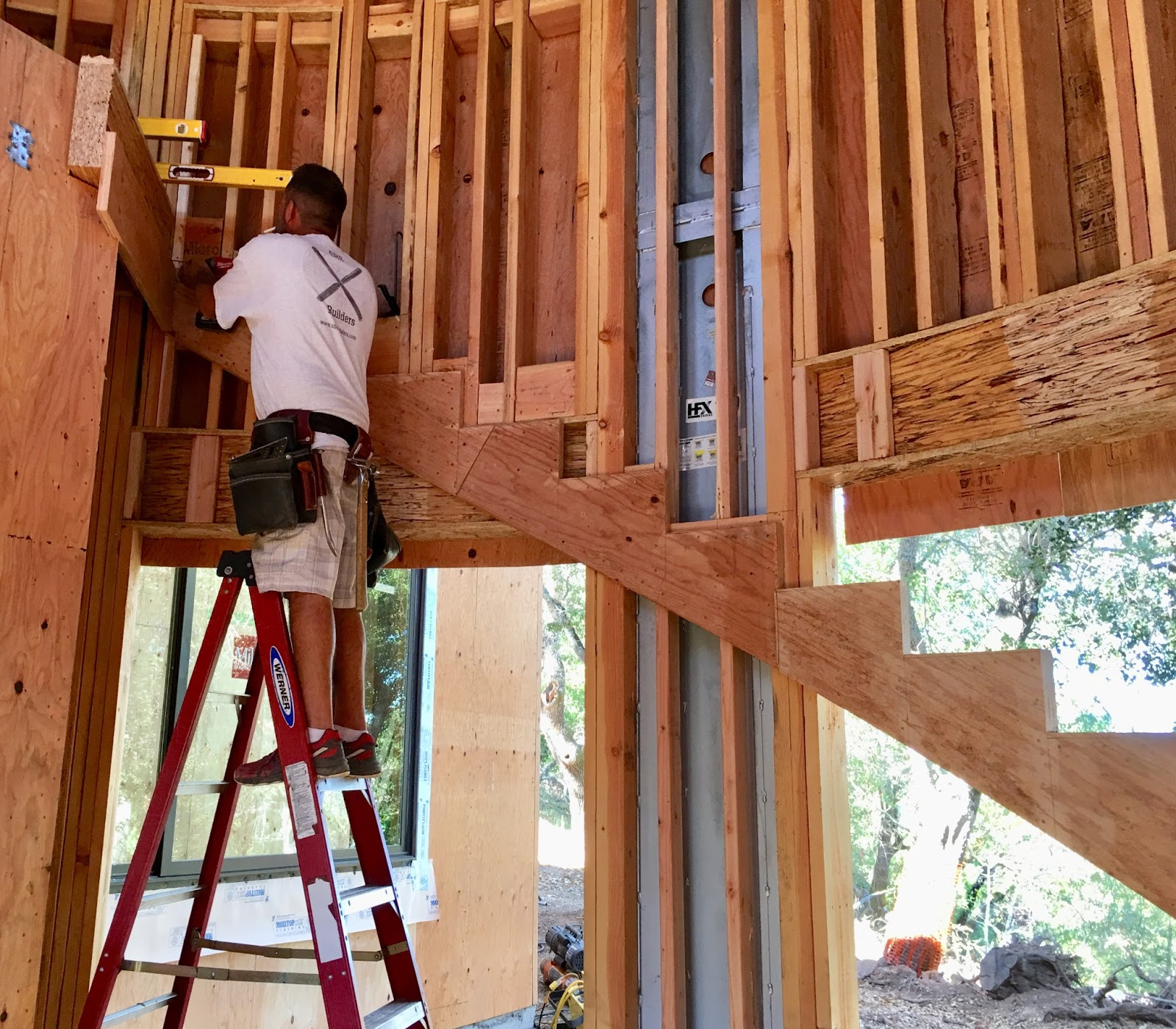 Roof Framing Geometry: Freestanding Circular Stair Stringer