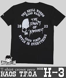 jas exclusive t shirt crows zero  tfoa (h 3) 2