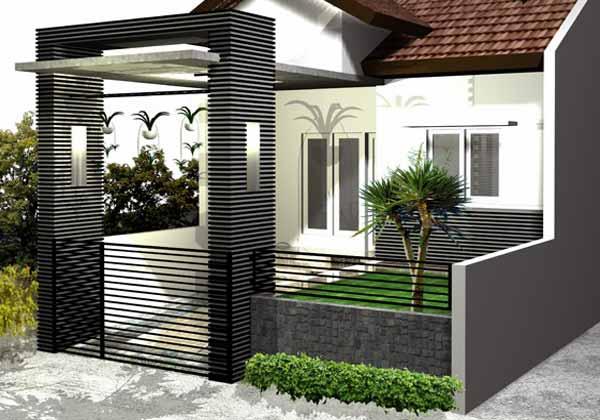 Gambar Pagar Rumah Minimalis Berbagai Model Desain dan