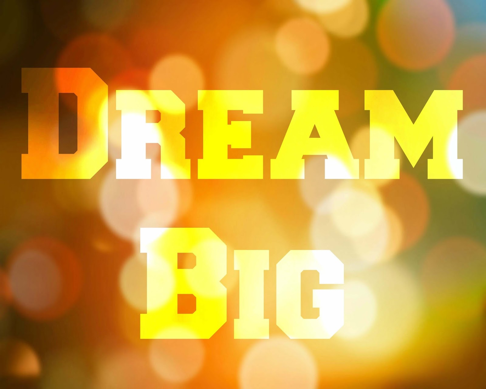 CJO Photo: Printable Word Art 8x10: Dream Big