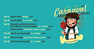 Programa Carnaval das Caldas da Rainha 2017