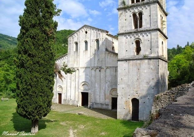 Serramonacesca, Abbazia di S. Liberatore a Majella