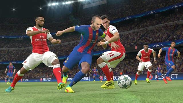 Pro Evolution Soccer 2017 XBOX 360 Español