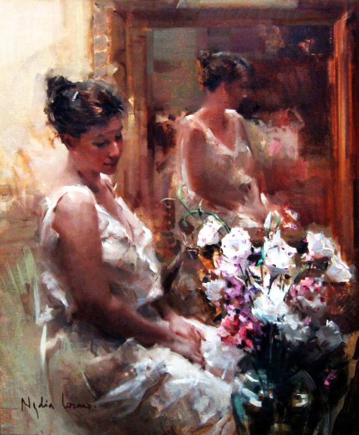 Масляная живопись. Nydia Lozano 17