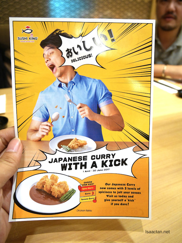 Sushi King's Latest - Japanese Curry With A Kick