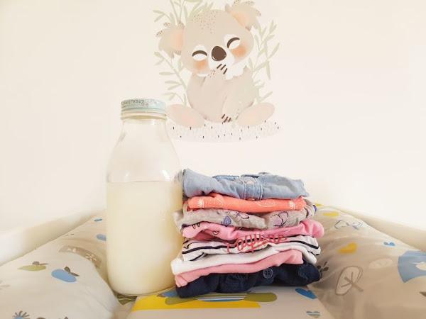 Ma recette de lessive maison ! (sans trucs cracras pour les bébés)