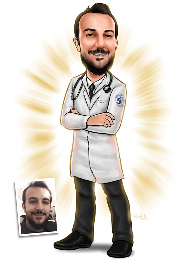 caricatura medicina brasilia df