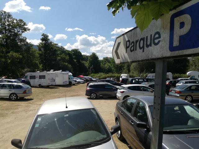 parque de estacionamento para caravanas
