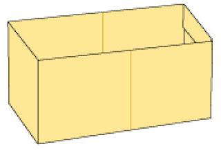 Bước 10: Hoàn thành gấp lõi hộp giấy