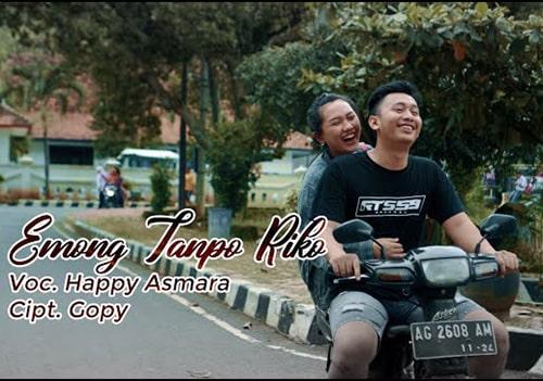 Lirik Lagu Happy Asmara - Emong Tanpo Riko