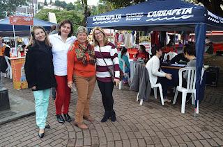 Equipe da Secretaria dos Direitos da Mulher participa do encerramento da Semana da Cidadania