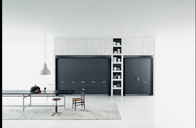 ultra modern hidden kitchen design