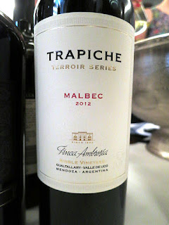 Trapiche Terroir Series Finca Ambrosía Single Vineyard Malbec 2012 (91 pts)