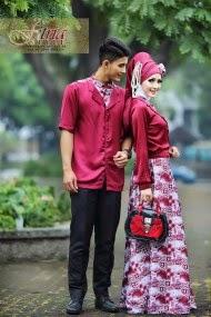 Model Terbaru Baju Muslim Couple
