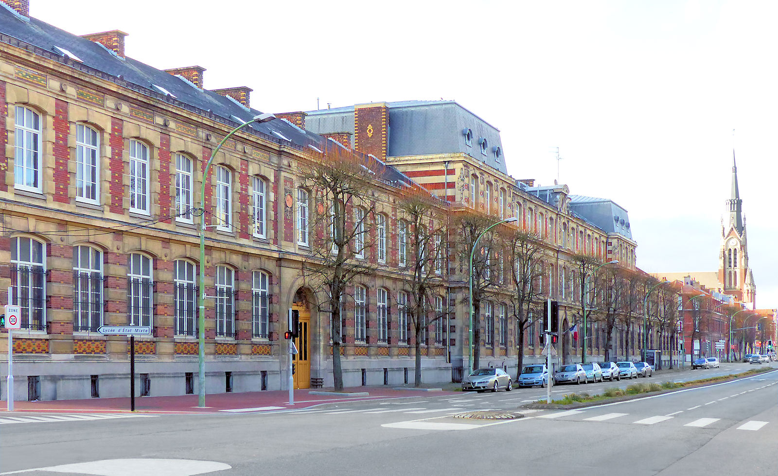 Lycées Tourcoing - Lycée Gambetta, Boulevard Gambetta