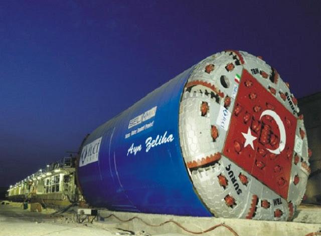 Türkiye, Dünya'da Tünel Açma Makinesi Üreten 8 Ülkeden Birisi Oldu